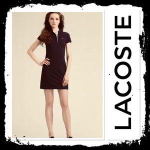 Lacoste Polo Shirtdress Black